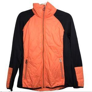 Calvin Klein Performance Neon Orange Puffer Jacket